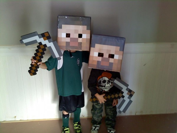 Making your own Minecraft Steve head from PDFs
