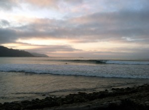 Sunrise at the Cove, Rincon Point