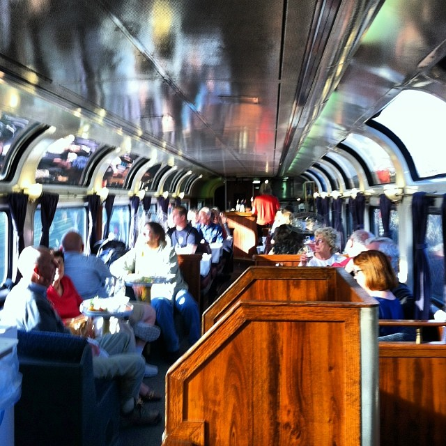 The Parlour Car is highly civilized.