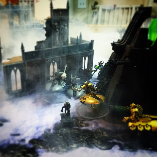 Warhammer 40,000 with special effects!