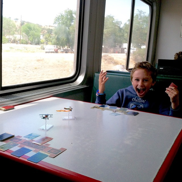Last Summer, Playing Wings Of Glory On The Amtrak Coast