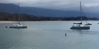 A couple #multihull hotties moored off the Wharf