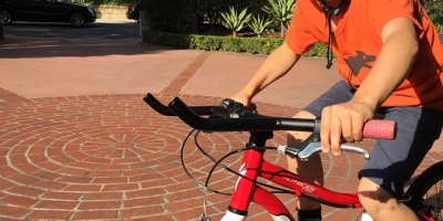 A cautionary tale about the dangers of having a bike geek for a father. #yolobars