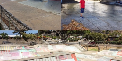 Three skateparks we visited on Oahu: A'ala, Makiki and Hawaii Kai. Last one was our favorite, fun lines.
