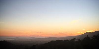Sunset from the Santa Barbara foothills