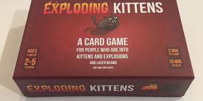 #ExplodingKittens ...Wholesome fun for the whole family!