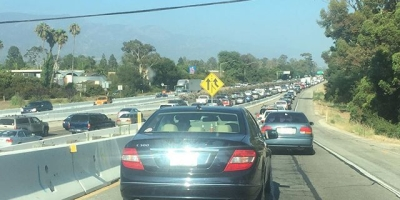 #tbt to Tuesday's traffic shitshow on 101 South. Was a total #FML moment