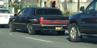 Another Baphmet sighting. The most evil car in Santa Barbara.