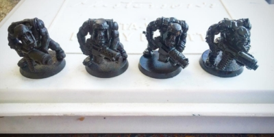 Testing primers on some Shoota Boys #wh40k #orks