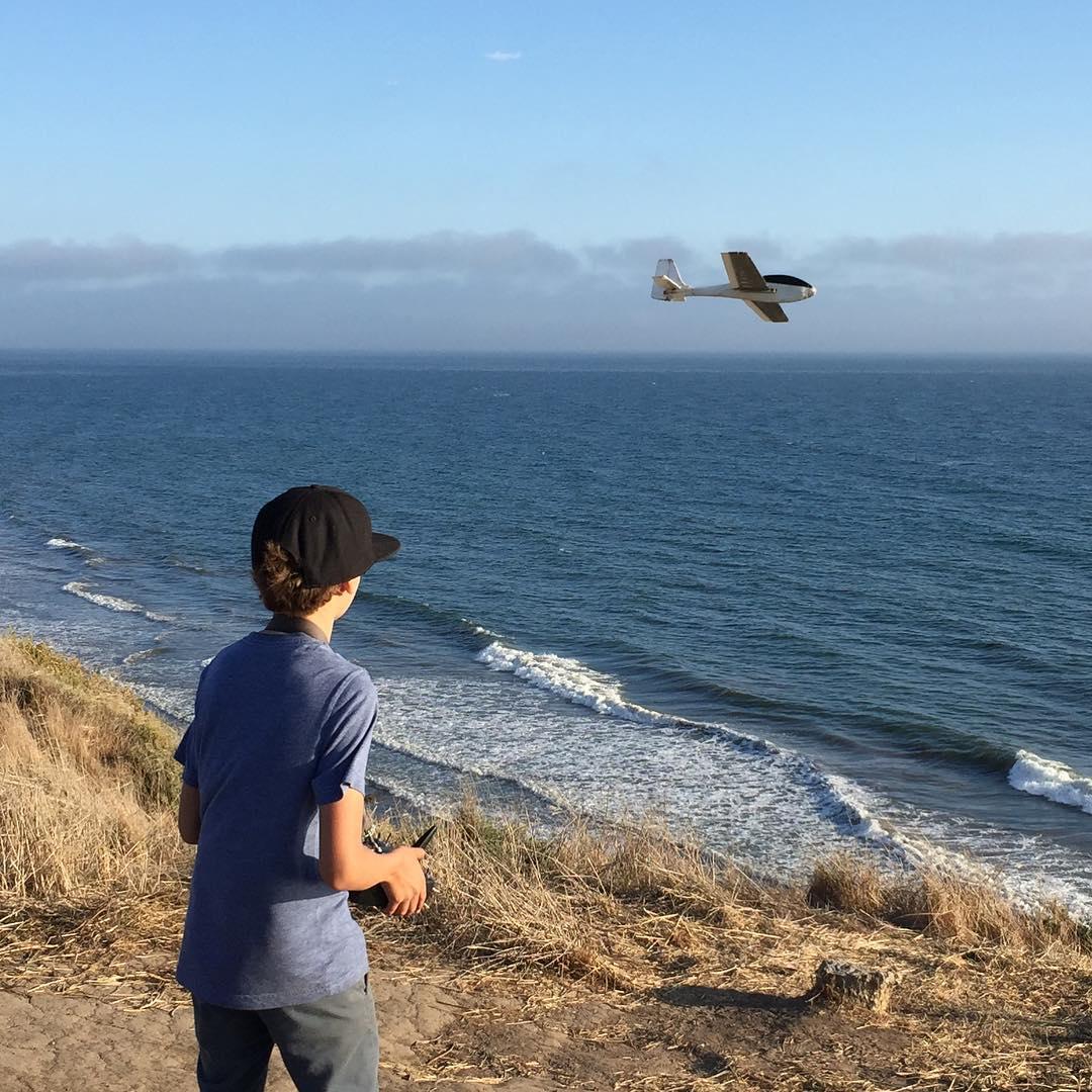 José Luis has his first Le Fish flight