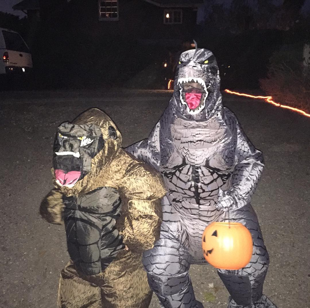 We found King Kong. Epic.